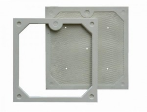 plate and frame type filter plates